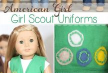 American girl doll clothes patterns / by Aimee Kirkpatrick