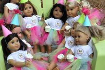 My Doll's Doll Party / by Melanie Hebert