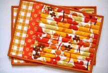 Placemats & mug rugs / by Dragonfly Fiberart Pattern Company