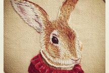 Needlework Animals / by Elisabeth Ames