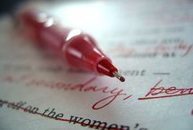 To be an author / by Amy Cederquist
