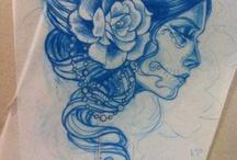 tatouages / by Solange Bellet Sculpteur