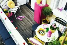 Balcony ideas / by Hilary Ratner
