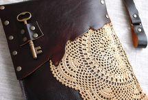 leather art / by Kelley Whisenhunt