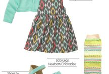Little girls outfits  / by V C