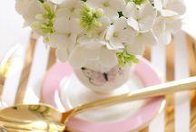 Pink & Gold Foil / by Arkansas Bride Magazine