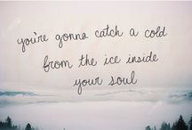 Lyrics / by Lori Sawyer