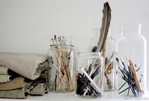 Painting Studio / Inspiration for current painting studio space as well as any future studio. / by Julia