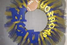 SCC homecoming decorating / by Jasmine Taylor