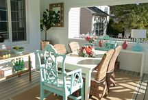 Porches and patios / by Erika Saeppa Lovingfoss