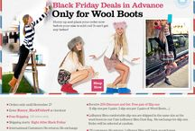 Black Friday  / Black Friday Deals in Advance! Only for Wool Boots! Hurry up and place your orders now at http://www.lebunnybleu.com/ / by LeBunny Bleu