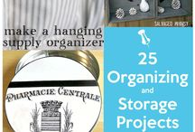Organization and storage / by Kyley Cole