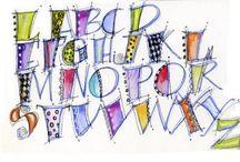 A * CAD * Alphabets/Doodle Words / by Jackie Jarrard