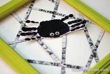 halloween/fall crafts / by Bryn