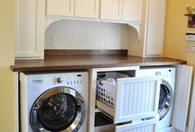 Laundry room / by Tina