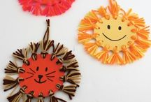 kiddie  animal crafts / by Sherri Goodwin