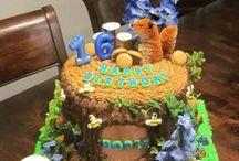 cakes and cupcakes / by Debbie-Kellett Yarnall