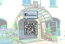 PHF Social Media / By the following QR Code you'll be able to find and subscribe our Social Networks. Be part of our community! / by Park Hotel le Fonti