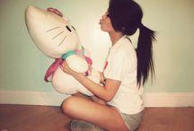 Hello >^.^< ♥ / Hello Kitty Collectibles/Memorabilia  / by Maria Mateus
