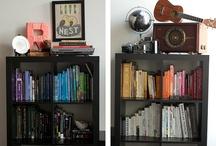 Bookshelves / by Carla B