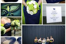 Navy and chartreuse / by Amy Hess