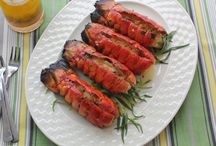 Grilling with Martha Stewart and Emeril / A collection of Martha Stewart's and Emeril Lagasse's favorite summer grilling recipes.  / by Martha Stewart Living