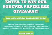Giveaways! / by PaperlessKitchen.com