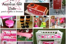 All Things American Girl  / by Bernadette (Mom to 2 Posh Lil Divas)