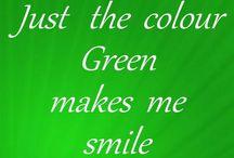 Green with envy / by Edwina Washington Poindexter