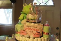 Divine Diaper Cakes / Diaper Cakes I've created and others I admire and get inspiration from / by Sherry Davis Ruffin