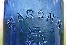 Cobalt Blue / Bottles, dishes etc / by Mary Thompson