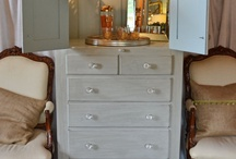 Entertainment center redo / by Lisa Patterson
