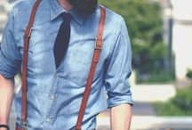Suspenders and Bow Ties. / by malehumanbeing {:-{)}