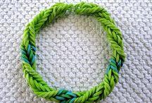 Rainbow Loom / Rainbow loom ideas / by Jessica Roth
