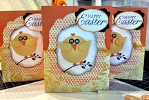 MY EASTER CARDS / Stampin Up inspired Easter cards! / by Barbara Charles