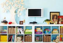 What to do with all those toys ... / Toy Storage Solutions -- Ideas for organizing toys in the home or classroom. / by Stacy Teet | Kids Stuff World