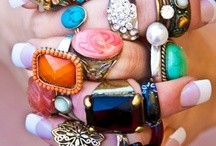 Jewelry / rings, necklaces and more / by Kathryn Lane-Klimaszewski