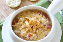 Soups On!! / I love making soup in the winter!  Nothing like a bowl of homemade soup to warm you up! / by Theresa Bauer