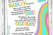 Brynlee first bday party ideas / by Julie Ellman