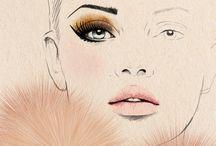 face illustrations / by Javi Lan
