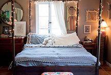 Master bedroom ideas / by Ashley DeVoe