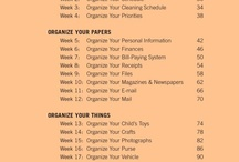 Organizing / by Samantha Smith
