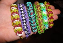 Rubber bands and looms. Wow!!!!! / by Dana Smith