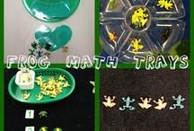 Spring Montessori Trays / by Christina White
