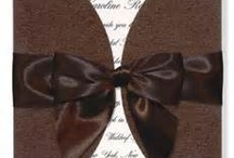 Brown Wedding Invitations  / by InvitesWeddings
