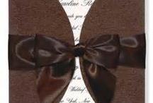 Brown Wedding Invitations  / by InvitesWeddings