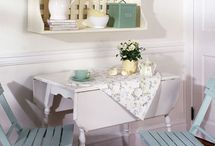 kitchen table makeover / by Kristin Bustamante