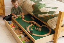 kid's bedroom ideas / by Lisa Pasek