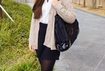 College Fashionista / by Sofina