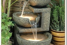 Outdoor Water Features / by Fiona Browne